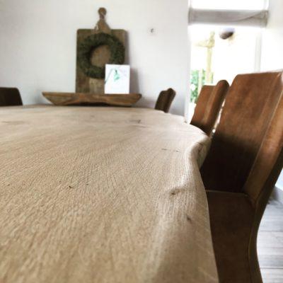 Relief van een tafelblad